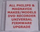 PHILIPS DVDR985 DVDR 985 UNIVERSAL FIRMWARE UPGRADE