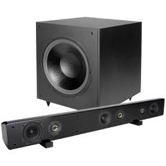 Dayton Audio Speaker Bar and Subwoofer Package