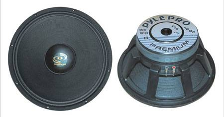 Pyle  Performance Optimized 18'' Pro Audio Die Cast Woofer