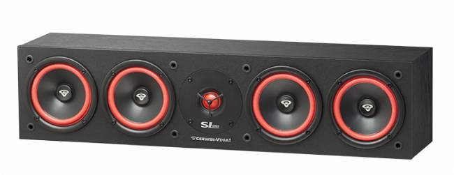 "Cerwin-Vega SL-45C Quad 5.25"" Center Channel Speaker, 300 Watts"