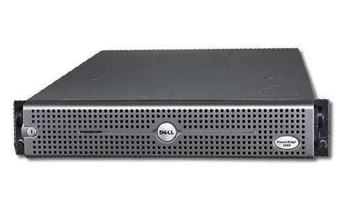Dell PowerEdge 2850 Dual Xeon 3.4Ghz cpu's,4gb Ram,6x72.8gb hdd,cd,fdd