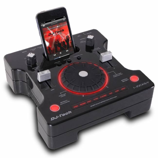 DJ Stationwith 8 Effects with 2 parameters adjustable