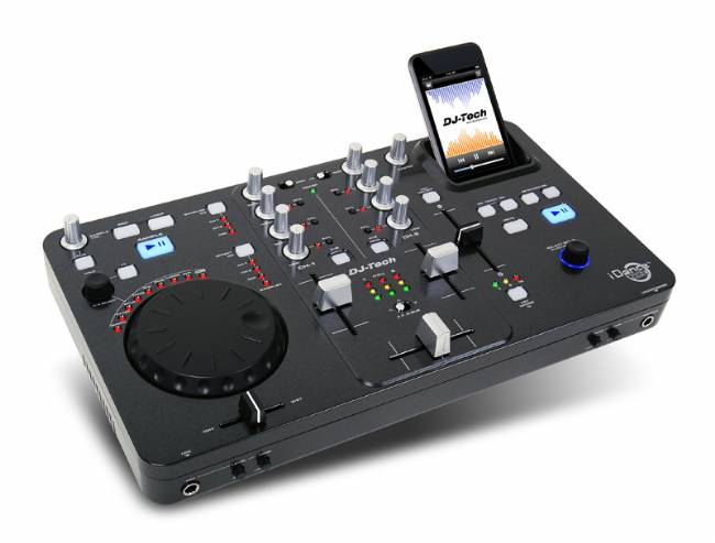 DJ TEch iPod Mixer with DSP built-in and USB Audio output
