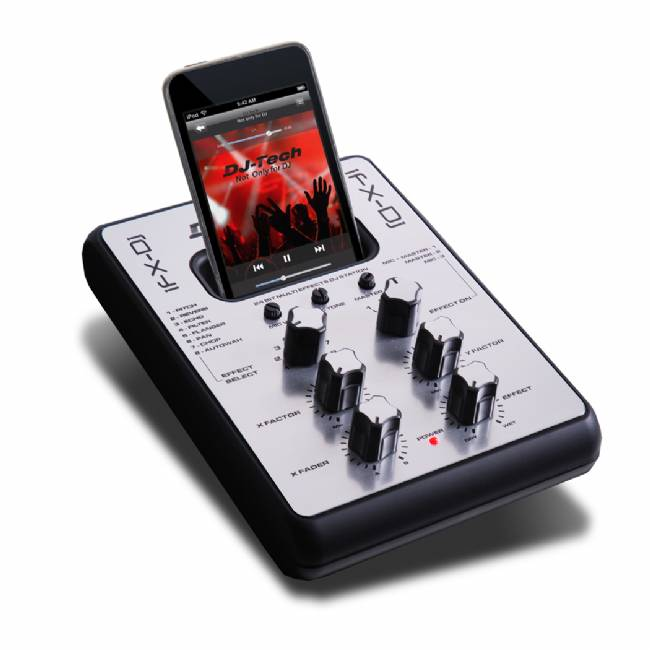 DJ Tech Mini Effects Station DJ 8 Effects with 2 parameters adjustable
