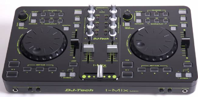 DJ Tech USB/Midi DJ Controller with Audio interfae - DJ Sft. included