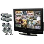 "CLOVER LCD26168 26"" All-in-One Observation System with 8 Cameras"